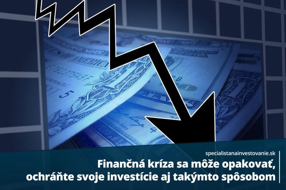 investície počas krízy