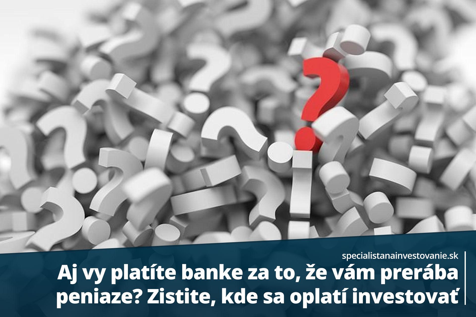 nevýhodné poplatky banke