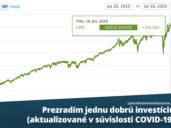 dobrá investícia počas covid