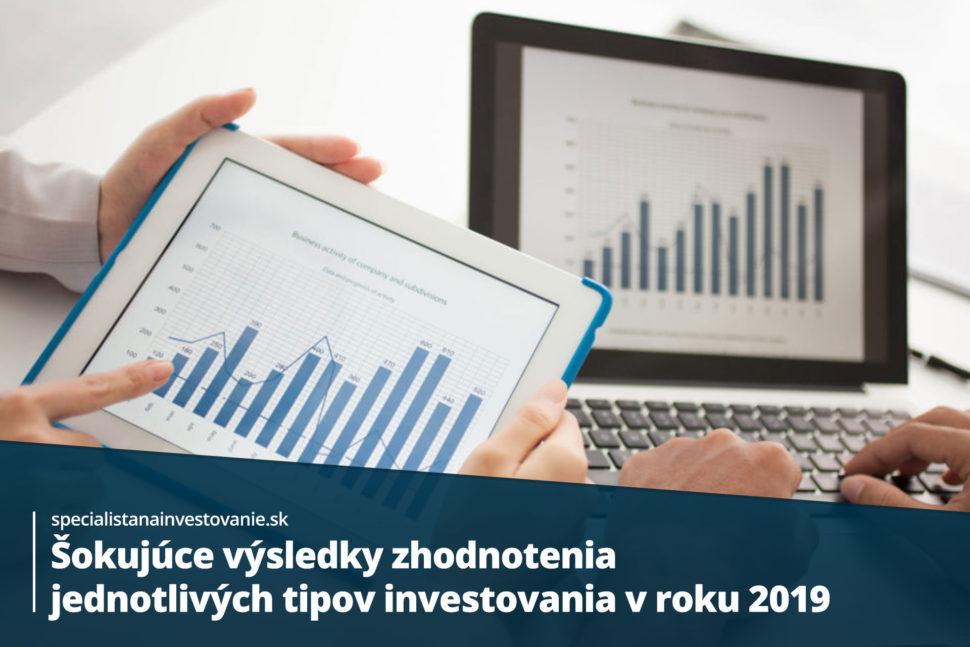 zhodnotenie investovania z minulých rokov