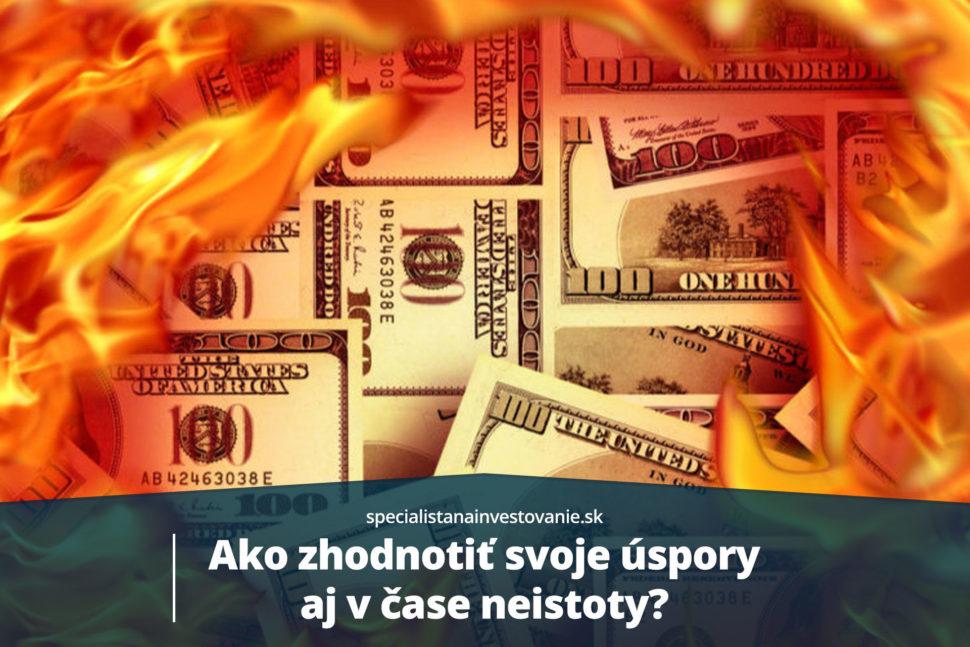 Ako zhodnotiť peniaze v kríze
