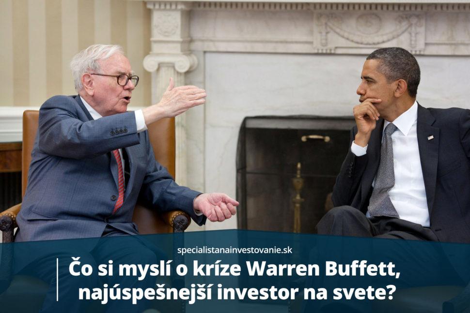 Warren Buffett o kríze