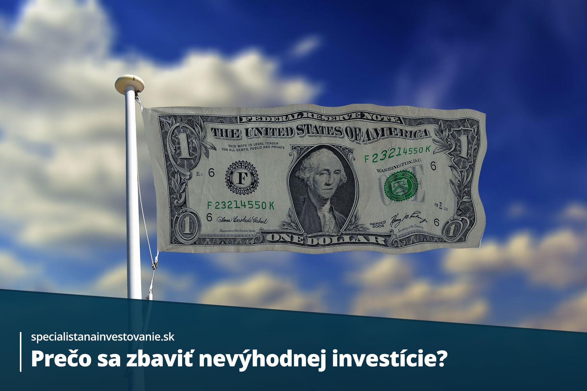 ako sa zbaviť nevýhodnej investície