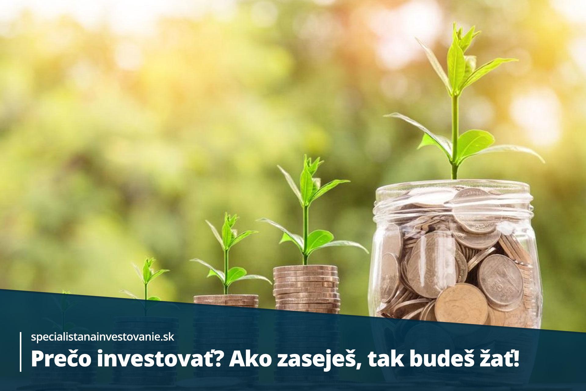 pravidlá investovania